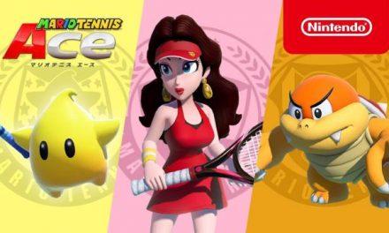 Nuevos personajes para Mario Tennis Aces