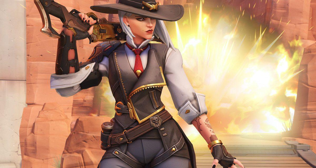 Ashe, el nuevo personaje de Overwatch