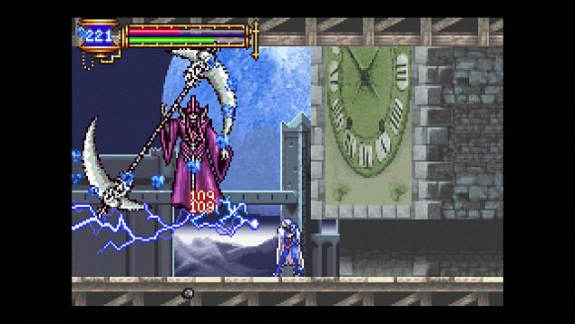 Aria of sorrow gameplay
