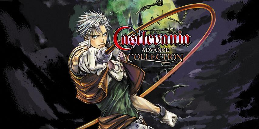 Castlevania advance collection banner